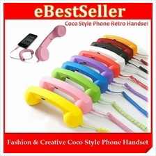 Fashion Creative Mini & Large Coco Style Phone Retro Handset