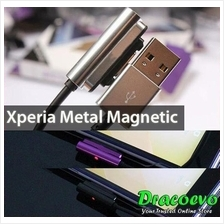 Sony Xperia Z Ultra Z1 Z2 Z3 Mini Compact Metal Magnetic Cable
