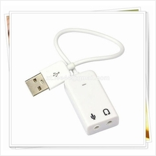 USB 2.0 Audio Sound Card Adapter For Laptop & PC