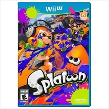 Splatoon Wii U NTSC - Get it tomorrow