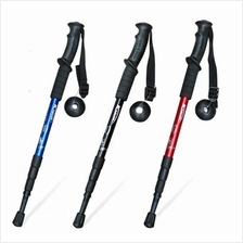 High Quality Anti Shock Mountain Hiking Walking Stick