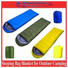 Envelope Hooded Sleeping Bag Mat Blanket for Outdoor Camping / Hiking