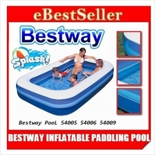 BESTWAY INFLATABLE PADDLING Swimming pool 54005 54006 54009 Family