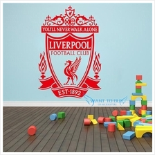 LIVERPOOL Football Club Wall Stickers And Window Stickers Home Deco