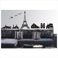 Paris Eiffel Tower Removable Vinyl Wall Sticker Decal Mural Quote Art