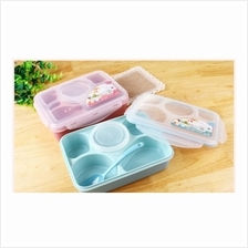 5+1 Square Tupperware lunch box Container (Microwave-safe )