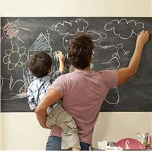 Removable Peel & Stick  Chalkboard Blackboard Wall Sticker