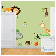 Animal  Wall Decal Removalbe Sticker Kids Art