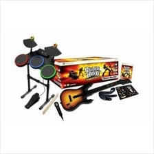 Wii Guitar Hero World Tour Band Guitar Kit (Complete)