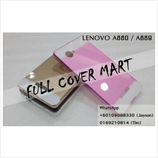 Lenovo A889 A880 A850 A850 Plus  Metal Bumper With Back Case Cover