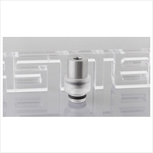 SS Hybrid Flow Drip Tip / e-cigarette ecig mechanical mod