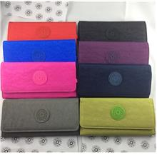 KIPLING - Carteira Nylon Clutch Long Wallet Purse