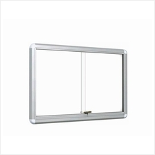 Sliding Glass Door with White Board Magnetic 4′ x 8′ klang