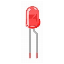 Electronic Component - LED 3MM (RED)*