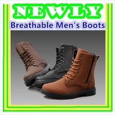 British Style Cool Breathable Men's Boots