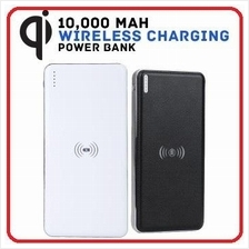 Q8 10,000mAh Qi Wireless Power Bank Wireless Charger Portable Battery