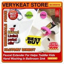 Faucet Extender For Helps Toddler Kids Hand Washing in Bathroom Sink