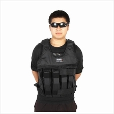 Max Loading 50kg Adjustable Weighted Vest Weight Jacket Exercise Boxin
