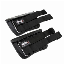 2pcs Max Loading 6kg Adjustable Weighted Leg Wrist Band Exercise Boxin