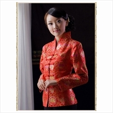Graceful Chinese Brocade Red Jacket 4002-28  紅 色 織 &#3767)