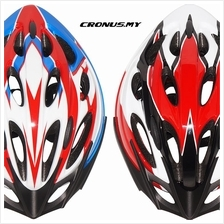 [CRONUS.MY] NEW ASOGO CYCLING BICYCLE SAFETY HELMET 1010868-BCS