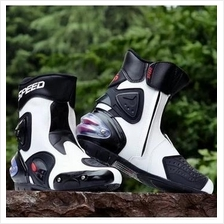 Motocyclist/Motorcycle Biker Racing Sport Safety Shoes Boots Footwear