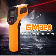 Non contact digital LCD laser IR Infrared Gun thermometer temperature