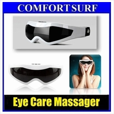 Eye Care Massager Magnetic Acupuncture Gently Vibrating Rest & Relax