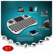 Wireless Keyboard i8 With Mouse Touch Pad For Android TV Box Player