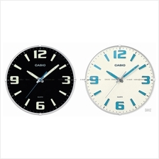 CASIO IQ-63 analogue wall clock neobrite markers hands stylish