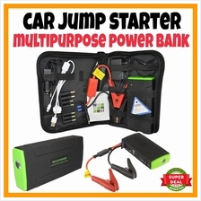 MERDEKA SALE Car Jump Jumper Start Power Bank battery Starter 30000mAh