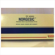 Inova (Australia) Norgesic Joint & Muscle OTOT Pain Killer 60 Tabs