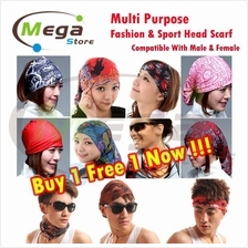 Multipurpose Outdoor Sport Bike Cycling Man / Ladies Head Scarf