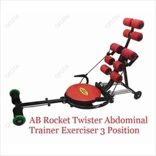 AB ROCKET TWISTER ABDOMINAL TRAINER EXERCISER 3 POSITION GYM FITNESS