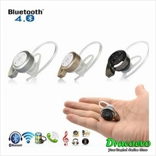 MINI A8 Bluetooth V4.0 Headset Stereo Wireless Handsfree Universal