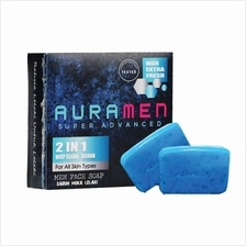 AURA MEN Super Advanced Face Soap: Sabun Muka Auramen (Free Postage!!)