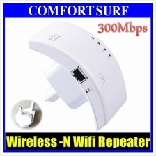 300Mbps Wireless-N Wifi Repeater 802.11N/B/G Router Range Extender
