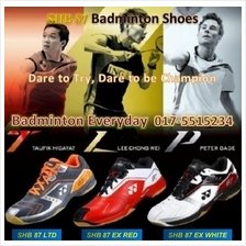 SHB 87 ex ltd Badminton Sport Shoes Kasut (Japan)