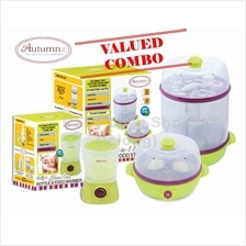 Autumnz COMBO 2 in 1 Electric Sterilizer + Home Bottle Warmer