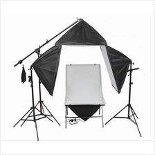 Product Shooting Pro Kit 1 Free 4 Lights Kit 155W with Table