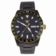SEIKO 5 SRP670K1 SRP670 AUTOMATIC BLACK IP SS MENS WATCH