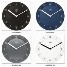 BRAUN BNC006 Classic Easy Reader Wall Clock *Variants