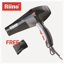 RiiNO Professional Hair Dryer 2600W Saloon Grage Hydra Ion Care