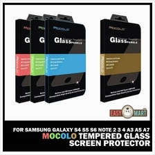 Samsung Galaxy S4 S5 S6 Note 2 3 4 A3 A5 A7 Mocolo Tempered Glass SP