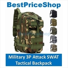Army Military 3P Attack Tactical 24L Backpack Bag Camping Hiking
