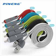 PINENG PN-301 Transformer 2 in 1 Data & Charging Cable For IOS & Andro