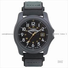 TIMEX T42571 (M) Expedition Camper Date nylon strap black grey