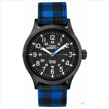 TIMEX TW4B02100 (M) Expedition Scout Date check nylon strap black blue