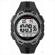 TIMEX TW5K94600 (M) Marathon Digital Watch resin strap black silver