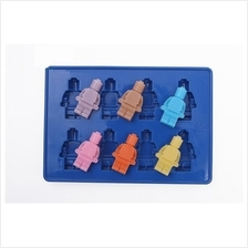 Silicone Small LEGO Man Ice / Jelly Mold